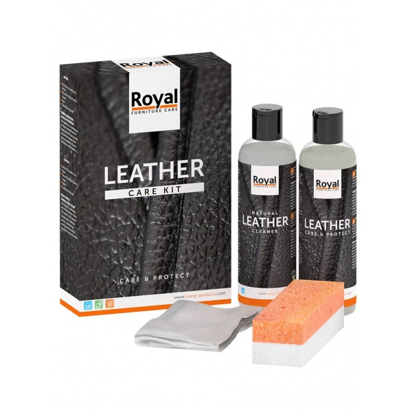 Leather Care Kit- Care & Protect 2x150ml 2835